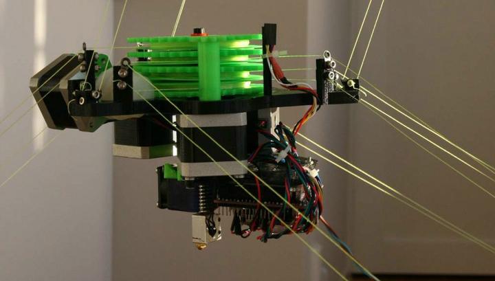 Предел – только небо: новая технология превратит любое помещение в 3D-принтер