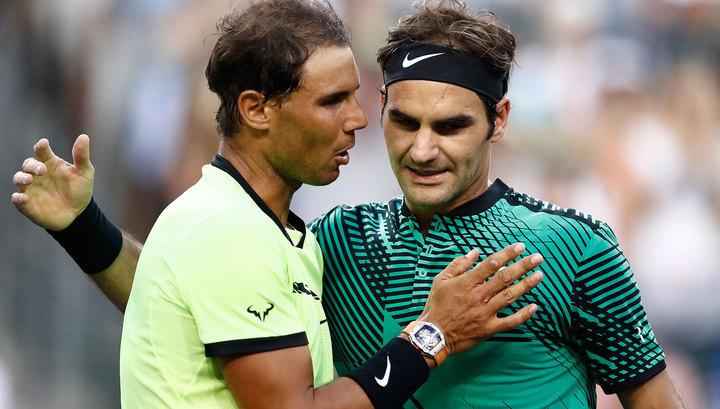 Теннисист Надаль: рейтинг не обманывает – Федерер был лучше меня в течение года