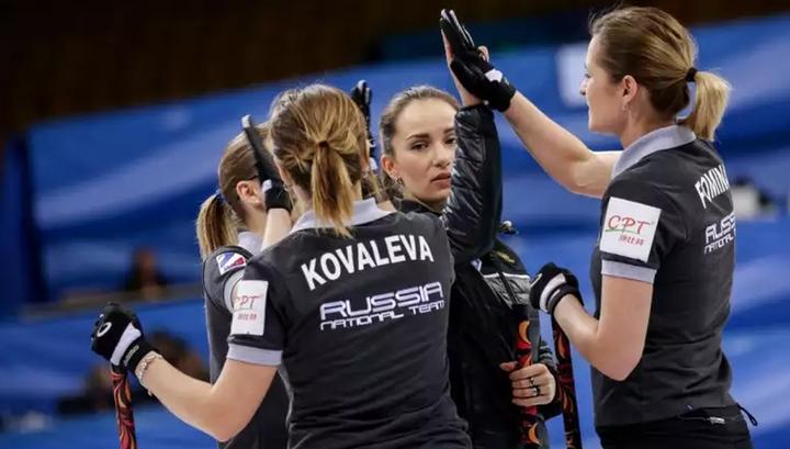 Российские керлингистки отобрались на чемпионат мира