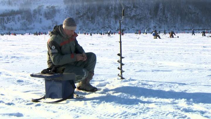 Путин пожелал рыбакам отличного клева