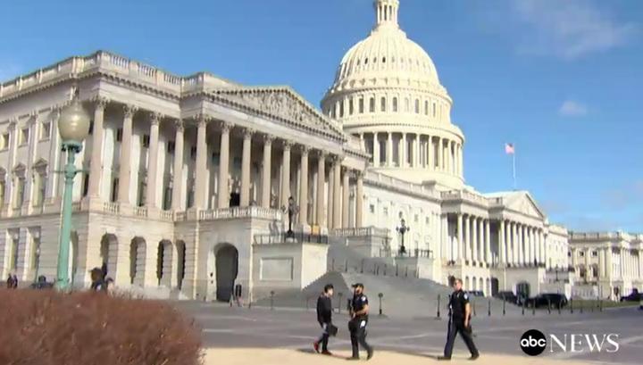 У Капитолия в Вашингтоне идет стрельба