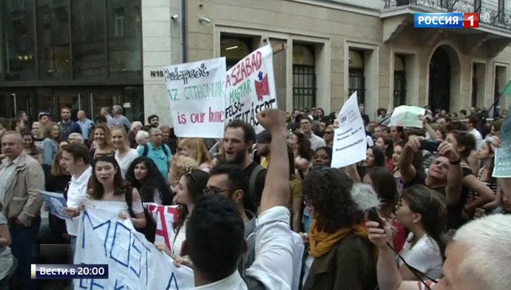 Скандал в Венгрии: университет финансиста из США Сороса под угрозой закрытия
