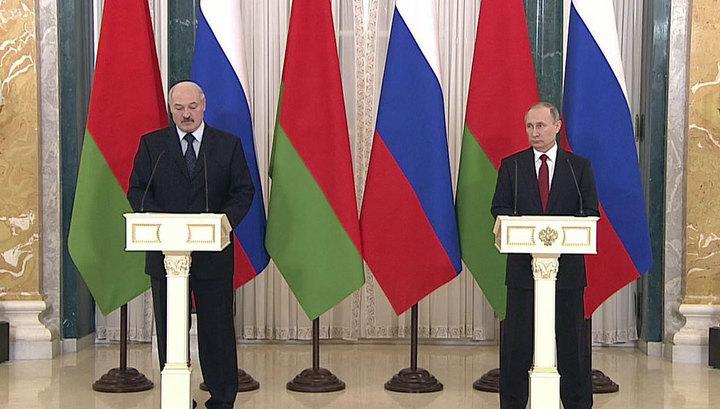 Путин и Лукашенко договорились по спорным вопросам
