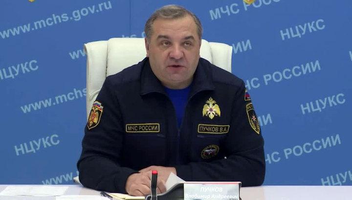 Пучков: основные работы на месте крушения Ан-148 могут завершиться в течение семи дней