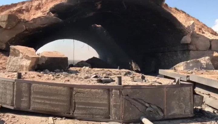 Военный корреспондент ВГТРК прислал первые кадры с авиабазы Шайрат