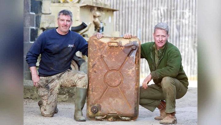 Британский фермер нашел в советском танке золото на 2,5 миллиона долларов
