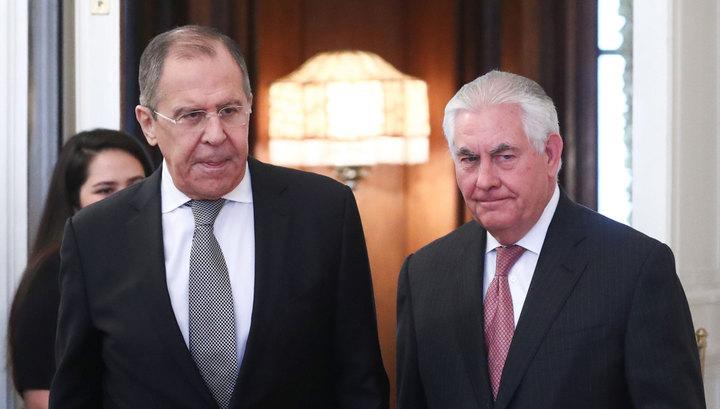 Лавров и Тиллерсон обсудили урегулирование сирийского конфликта