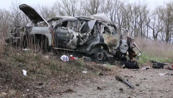 ЛНР: машину ОБСЕ подорвали трое украинских диверсантов