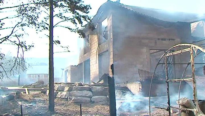 Правительство России окажет помощь пострадавшим от пожаров
