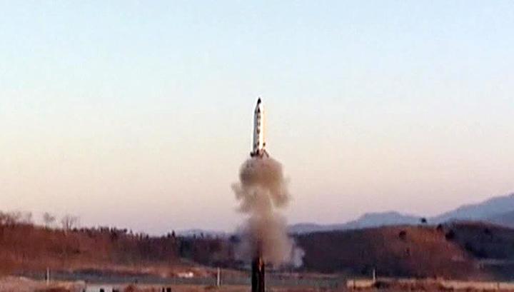 КНДР осуществила новый ракетный пуск