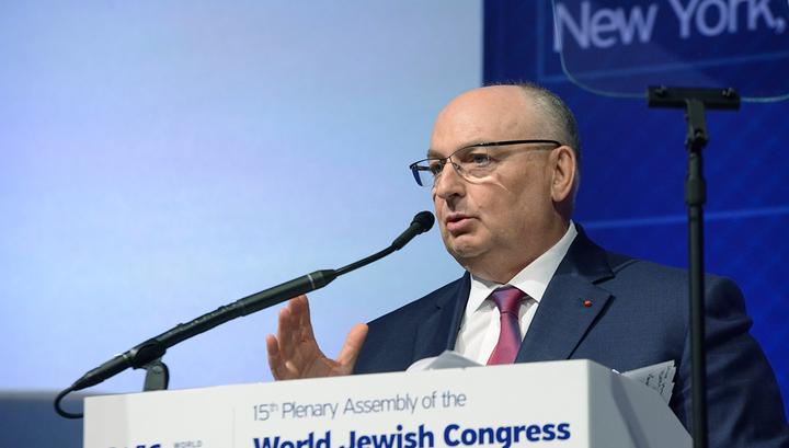 Президент Европейского еврейского конгресса Вячеслав Моше Кантор