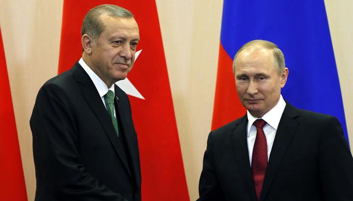 Путин и Эрдоган встретятся в Йоханнесбурге
