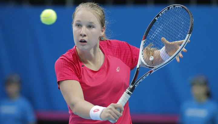 Теннис. Россиянка Блинкова пробилась в основной этап Australian Open