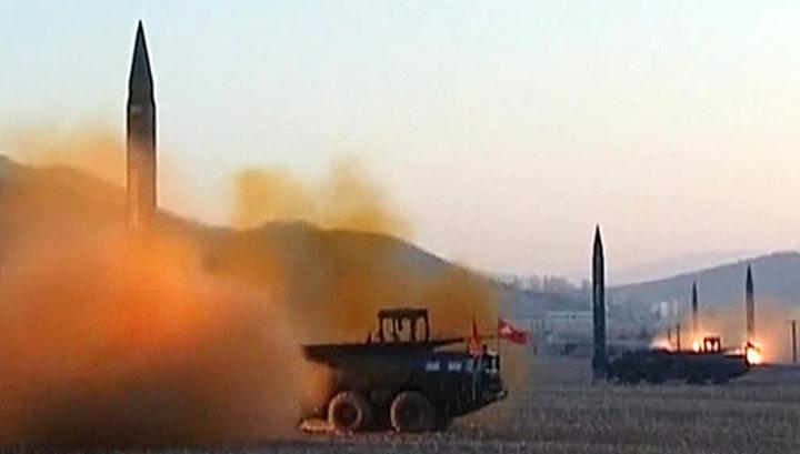 В КНДР осуществлен очередной ракетный пуск