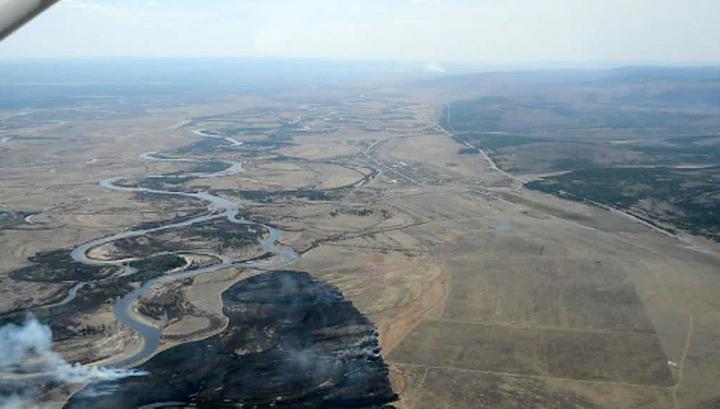 В Забайкалье продолжают гореть леса