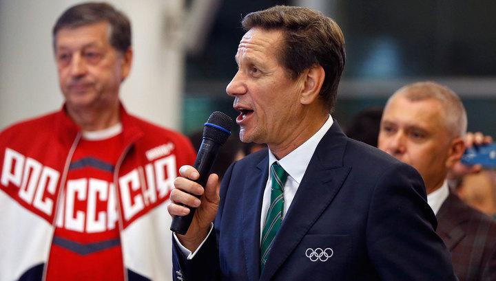 Александр Жуков: наши спортсмены выступали с Россией в своем сердце