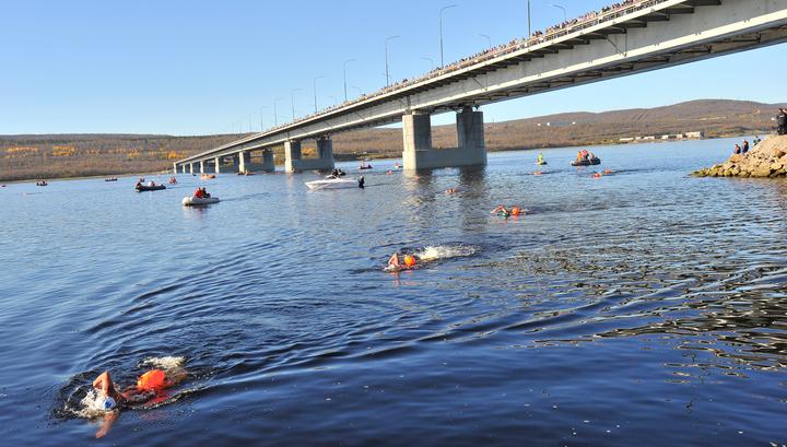 мост в мурманске через кольский залив фото