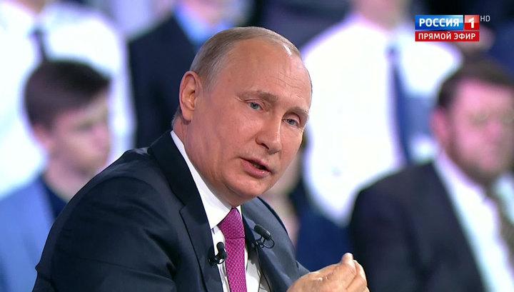 Владимир Путин: Россия всегда жила под санкциями