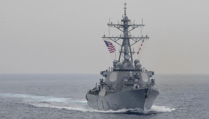 В Персидский залив вошли американские военные корабли