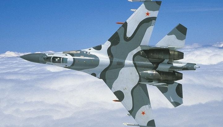 Су-27 отогнал шведского разведчика от границ России