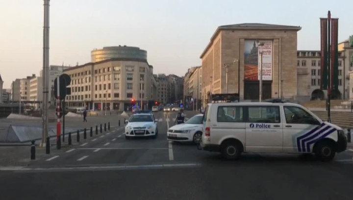 Полиция Брюсселя нейтрализовала террориста-смертника