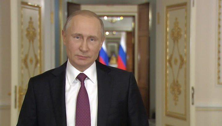 Путин поздравил с Новым годом Трампа и ряд других мировых лидеров