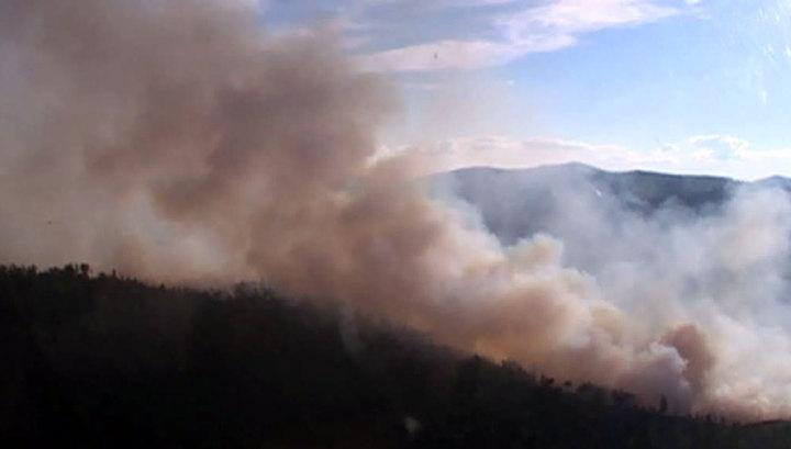 Лесные пожары: Сибирь и Дальний Восток продолжают полыхать