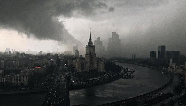 Москву в воскресенье вновь ожидают жара и гроза