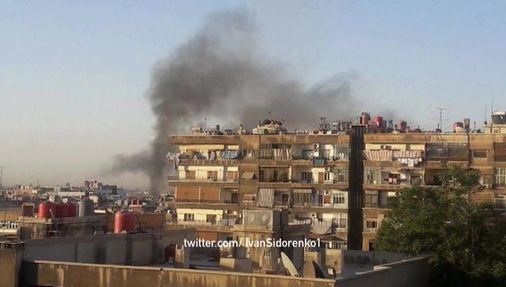 Минобороны РФ: боевики убили двух человек в Дамаске
