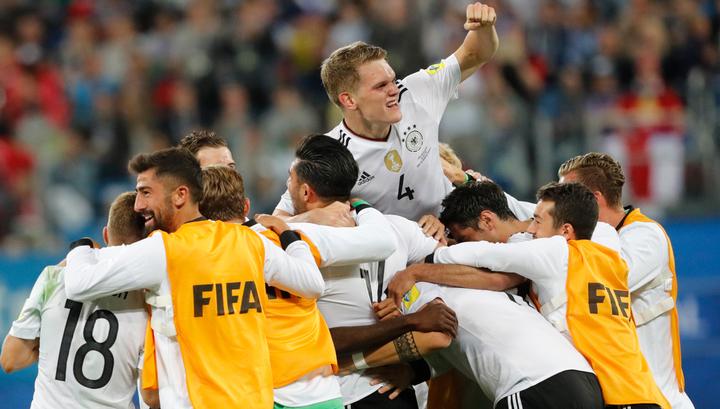 Футболисты Германии выиграли Кубок конфедераций