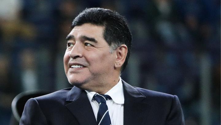 Марадона примет участие в жеребьевке чемпионата мира 2018