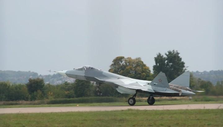 В Хабаровском крае потерпел крушение истребитель Т-50