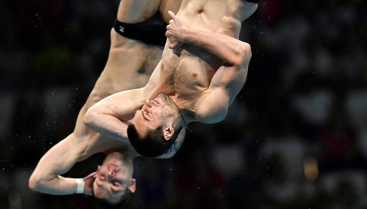 Прыжки в воду. Минибаев и Бондарь завоевали золото чемпионата Европы