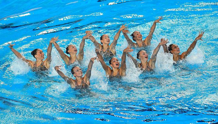 Российские синхронистки – чемпионки мира в соревнованиях групп
