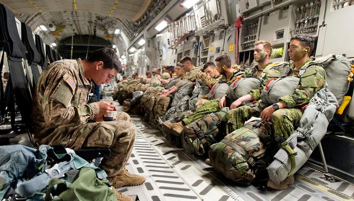 Пентагон отправит на Ближний Восток 1000 военнослужащих