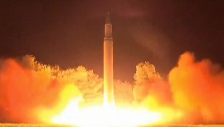Соединенные Штаты Америки зафиксировали запуск КНДР трех баллистических ракет