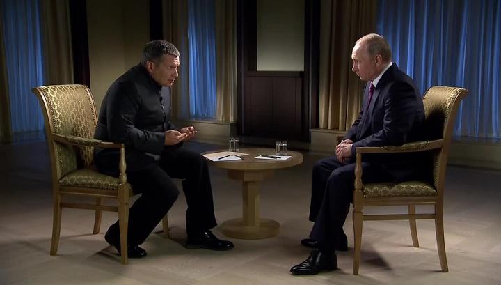 Эксклюзивное интервью Владимира Путина: почему ответ России чувствителен для США
