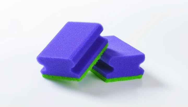 фото губки для мытья посуды