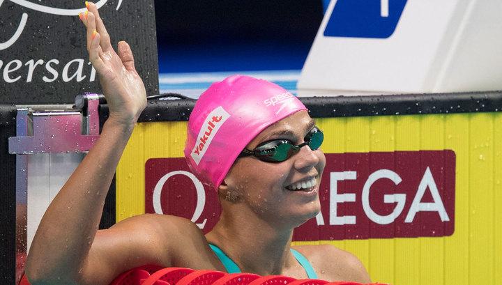 Ефимова стала чемпионкой Европы на стометровке брассом