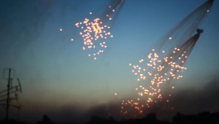 США ударили по Сирии запрещенными фосфорными боеприпасами