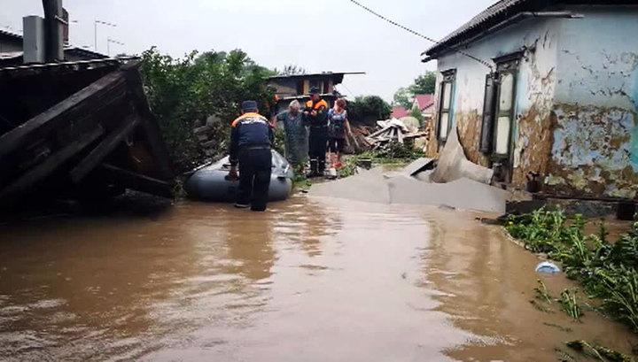 В Волгограде введен режим ЧС из-за сильных дождей