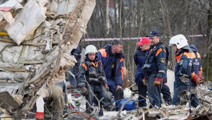 СКР: самолет Качинского разбился не из-за теракта, а из-за ошибок экипажа