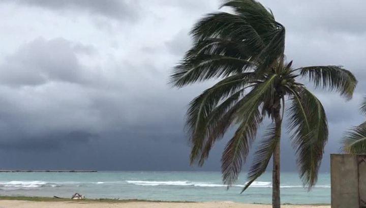 Ураган «Франклин» обрушился на побережье Мексики