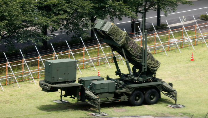 Япония развертывает комплексы ПВО из-за КНДР