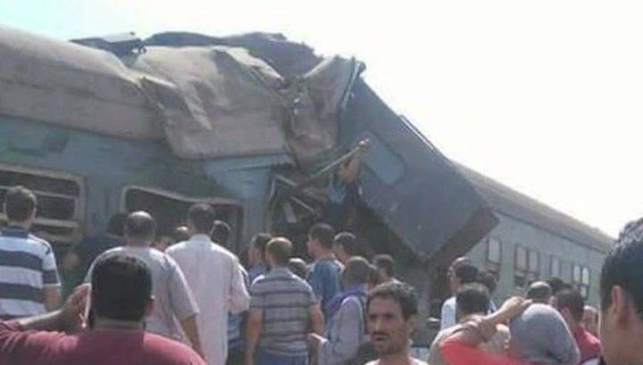 28 погибших, 50 раненых: в Египте столкнулись поезда