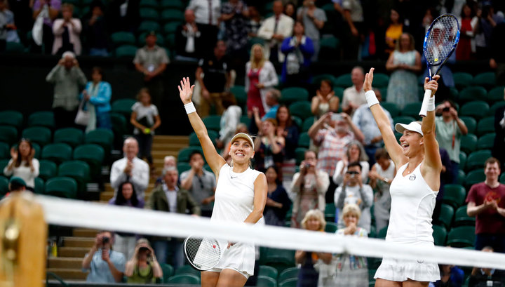 Веснина и Макарова стали полуфиналистками турнира в Индиан-Уэллсе в парном разряде