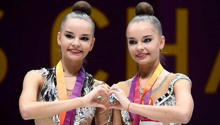 Россиянки заняли весь пьедестал на этапе Гран-при по художественной гимнастике в Москве