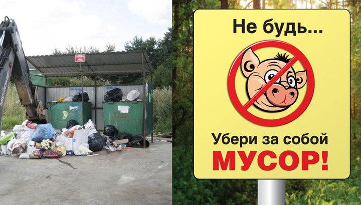 компании картинка не будь свиньей не бросай мусор того