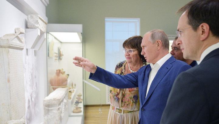 """Путин призвал создать """"российскую Мекку"""" в Херсонесе"""