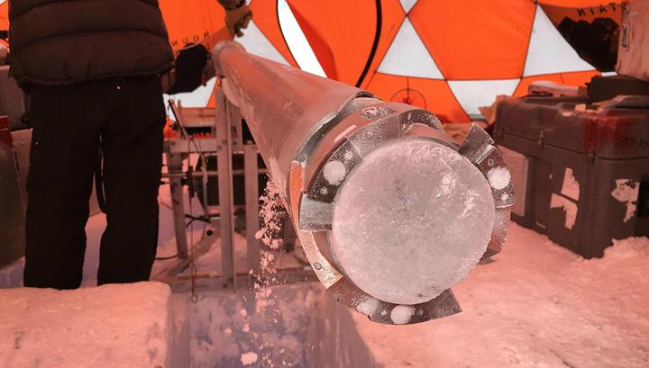 Образцы древнейшего льда возрастом 2,7 миллиона лет обнаружены в Антарктиде